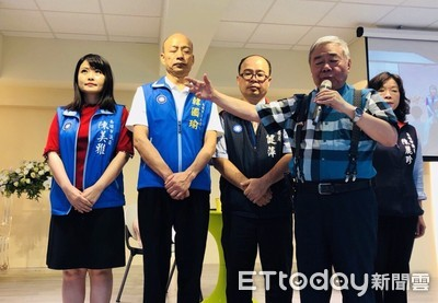 韓國瑜承諾帶教育局長給牧師看 段宜康:議員放過荒唐事