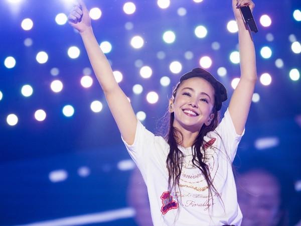 ▲安室奈美惠15日引退前最後一唱。(圖/翻攝自安室奈美惠臉書)