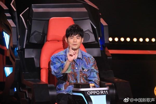 ▲周杰伦参与了《中国新歌声》第一、二、三季。(图/翻摄自《中国新歌声》微博)