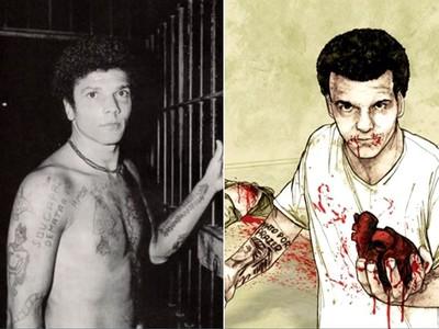 行走的「死亡筆記本」!惡男殺70人全是壞人 闖監獄砍狠父嗑心臟