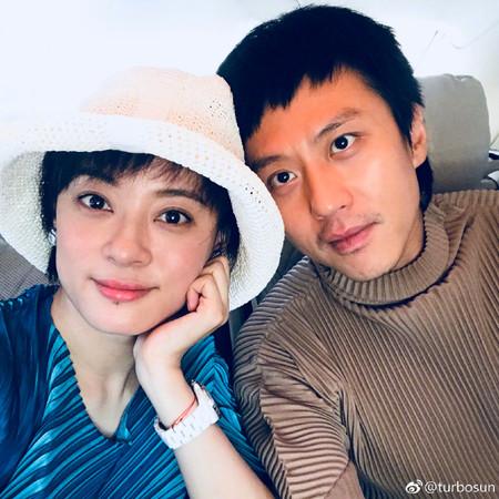 ▲孫儷和鄧超結婚7周年。(圖/翻攝自孫儷微博)