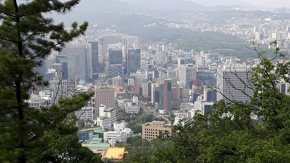 首爾南山(圖/記者羅翊宬攝)