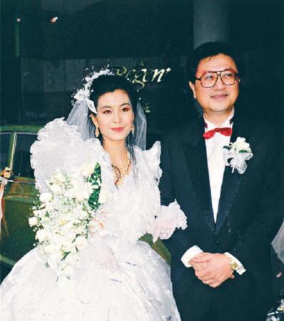 伍詠薇第一段婚姻13天就喪夫。(圖/翻攝自網路)