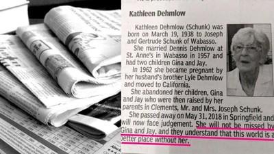 亡母訃聞竟寫「沒她會更好」 逆子揭真相:人死了也不會變成聖人