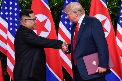 川普:正與北韓協商川金二會地點