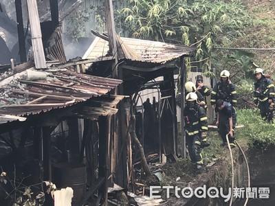 更新/大安區大火延燒十多戶民宅 目前一死兩失聯