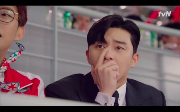 ▲▼李英俊吃醋。(圖/翻攝自tvN)