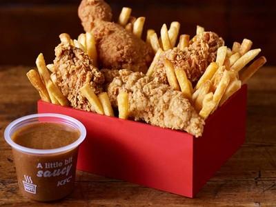 吃素人忘不了肉味!肯德基研發「不含雞的炸雞」,一咬噴汁也是素