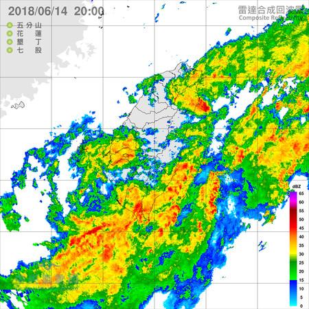 ▲▼12小時奇襲!準凱米登陸高屏 4縣市豪雨轟整夜。(圖/中央氣象局、日本氣象廳)