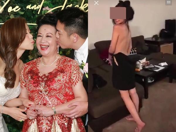 ▲▼薛家燕兒媳被爆拍性愛影片流出。(圖/CFP、翻攝自「專什麼員」微博)