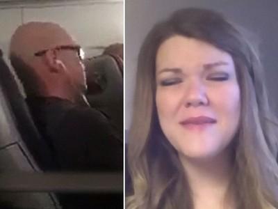 坐飛機被辱「臭胖子」 女子蜷縮掉淚 後座暖男:我來坐她旁邊
