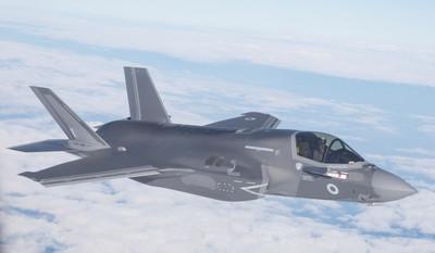 英軍:F-35B每次飛都要重漆隱形塗料