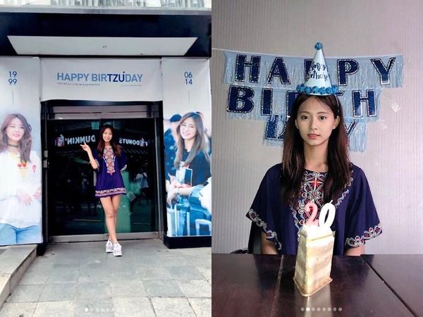 ▲子瑜14日迎來20歲生日(南韓年紀)。(圖/翻攝自TWICE IG)