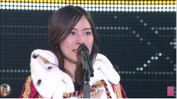 ▲▼第53屆AKB48總選舉-第一名 SKE48松井珠理奈、第二名 SKE48須田亜香里、第三名 HKT48宮脇咲良、第四名 NGT48荻野由佳。。(圖/翻攝自AKB48 Youtube)