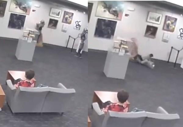 5歲小弟見雕像伸手「想抱抱它」 整尊摔爛父母慘賠近400萬