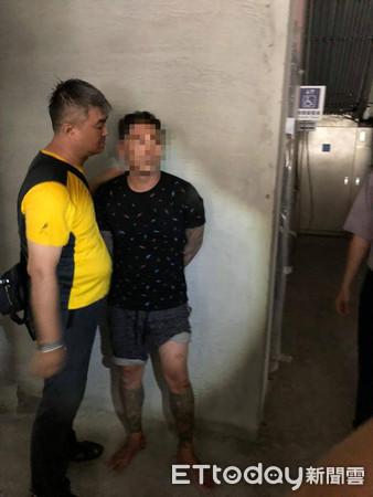 ▲▼ 台南奪槍犯楊政勳被逮。(圖/記者林悅翻攝)