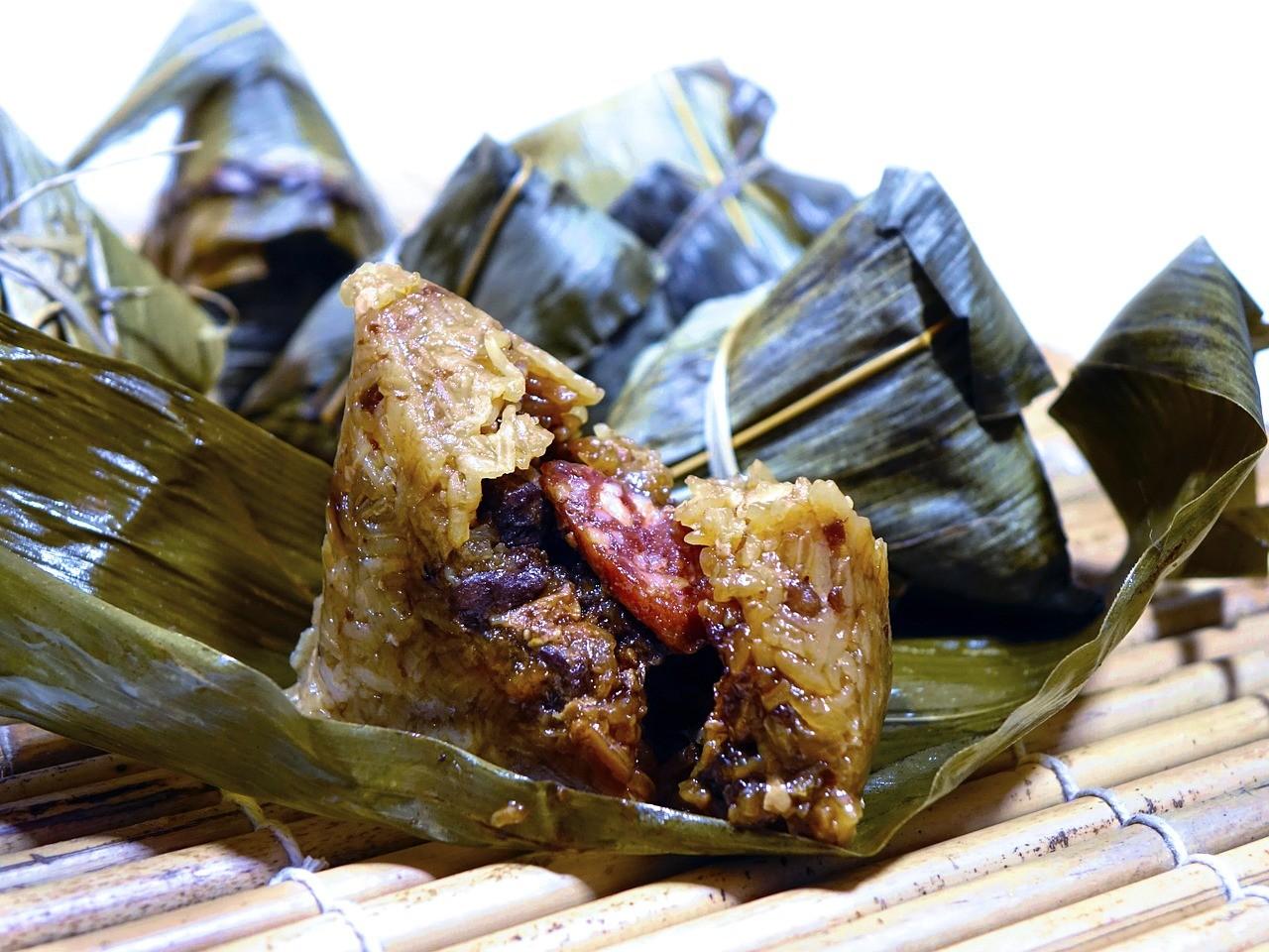▲粽子,肉粽。(圖/翻攝自pixabay)