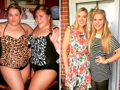 瘦掉半個自己!10張「減肥Before&After」,有決心你也可以