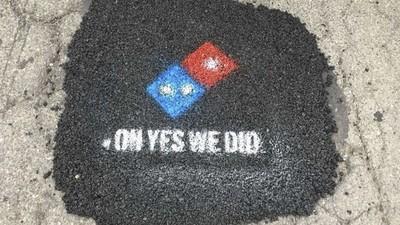 路不平害披薩爆掉?達美樂啟動「披薩路平專案」 政府瞬間臉綠了