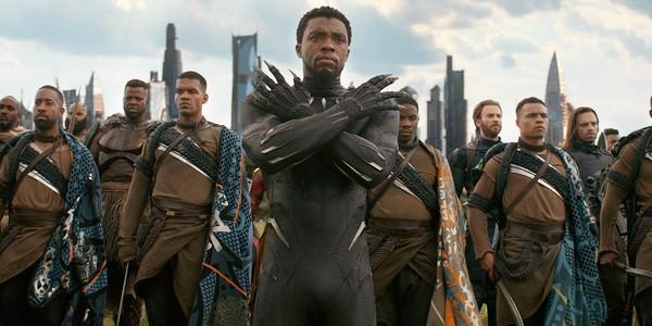 「黑豹」查德維克博斯曼(Chadwick Boseman)。(圖/《黑豹》劇照)