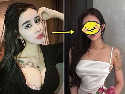 蛇精女李蒽熙「整組維修」又變不同臉 網驚:他要變回人類了?!