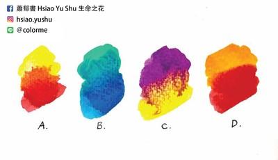 蕭郁書│色彩占卜:現在你最真實的狀態是怎麼樣的?