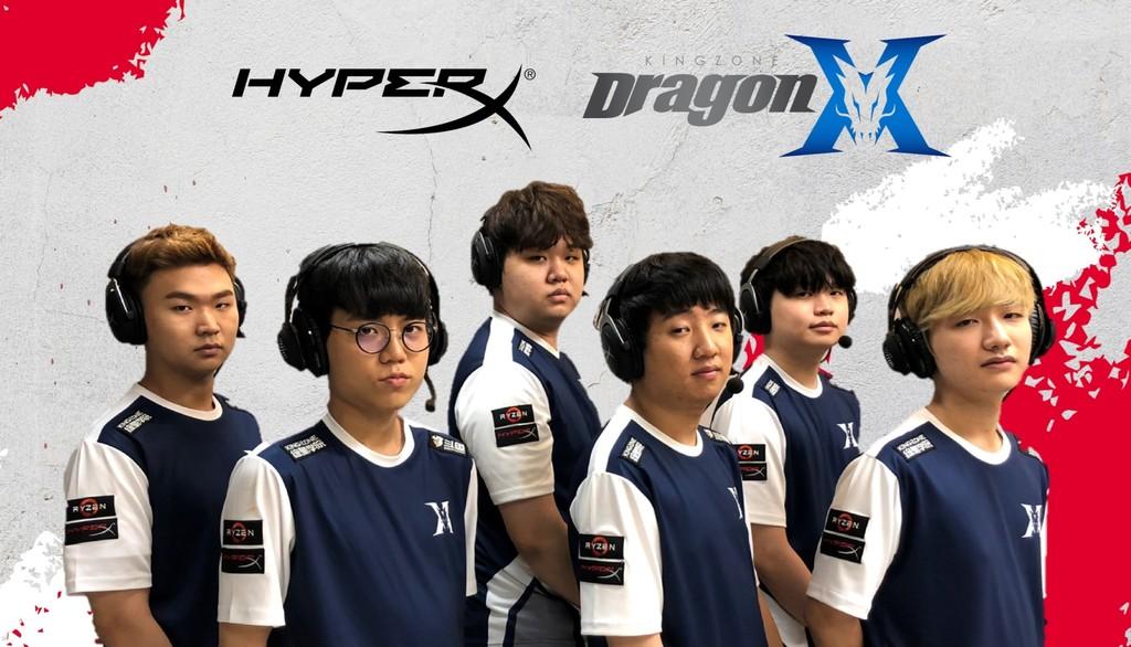 HyperX與《英雄聯》冠軍戰隊KING-ZONE正式結