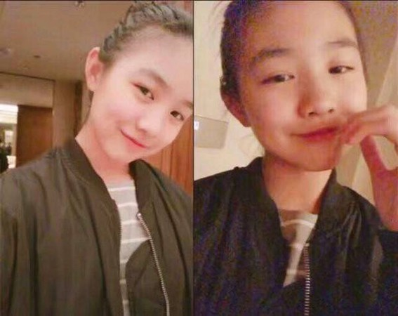 ▲▼汪峰大女兒小蘋果現在13歲了。(圖/翻攝自微博)