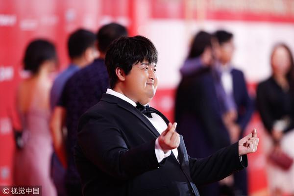 ▲▼包貝爾、辣目洋子、克拉拉《胖子行動隊》上海電影節閉幕紅毯。(圖/CFP)