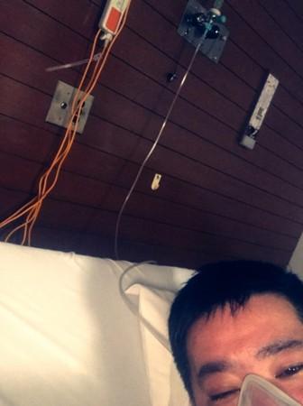 ▲▼拓也哥呼吸困難送醫急救! 腳趾截肢隔6個月心力衰竭。(圖/翻攝自拓也哥部落格)