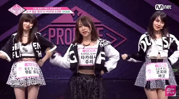 ▲等級評價唱BLACKPINK!AKB48高橋朱里話題僅次小櫻花。(圖/翻攝自YouTube Mnet Official)