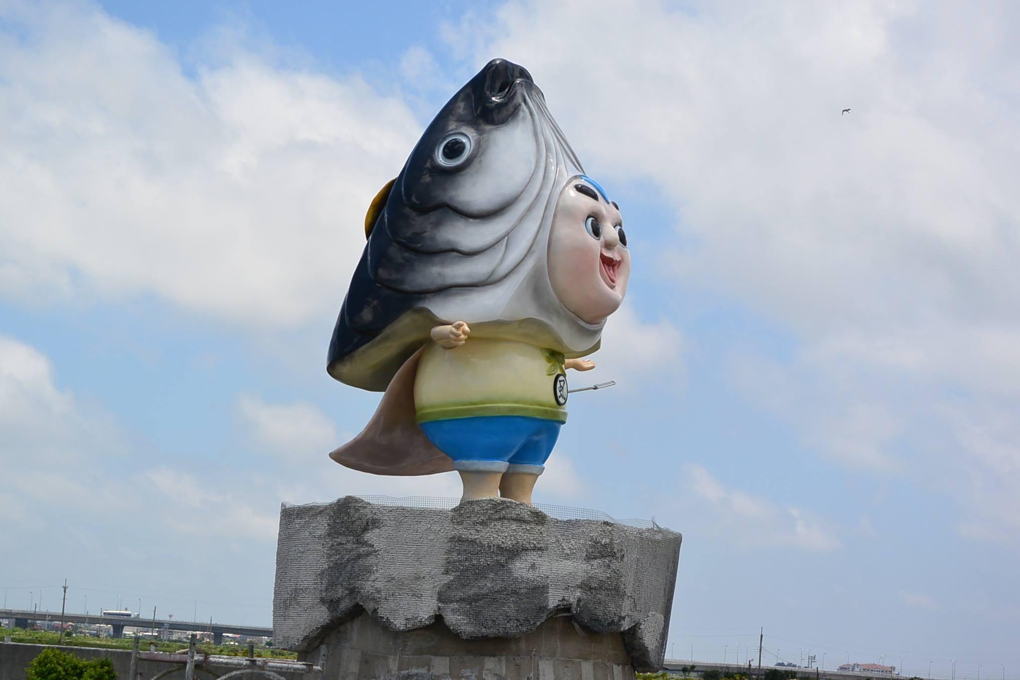 「虱目魚小子」。(圖/翻攝「台南市北門區永隆社區」臉書)