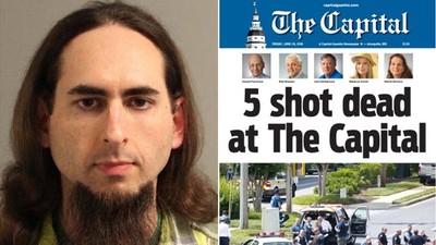 槍手洩恨濫殺《首都公報》5員工 全因一篇性騷報導咬住他痛腳