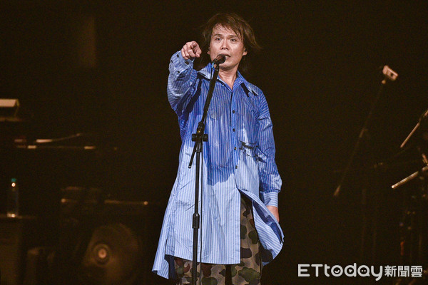 ▲▼伍佰 & China Blue 「透南風」演唱會。(圖/記者張一中攝)