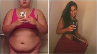 胖到得病才覺醒...136公斤→翹臀女神 肉女孩靠毅力逆轉人生