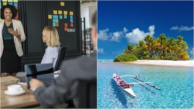 上班太累總是想放假?心理專家:休假應拒接公司主管電話