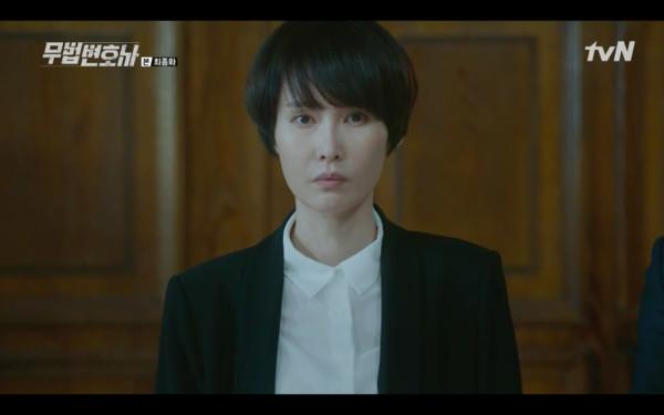 ▲出現,成為壓垮車文淑的最後一根稻草。(圖/翻攝自tvN)