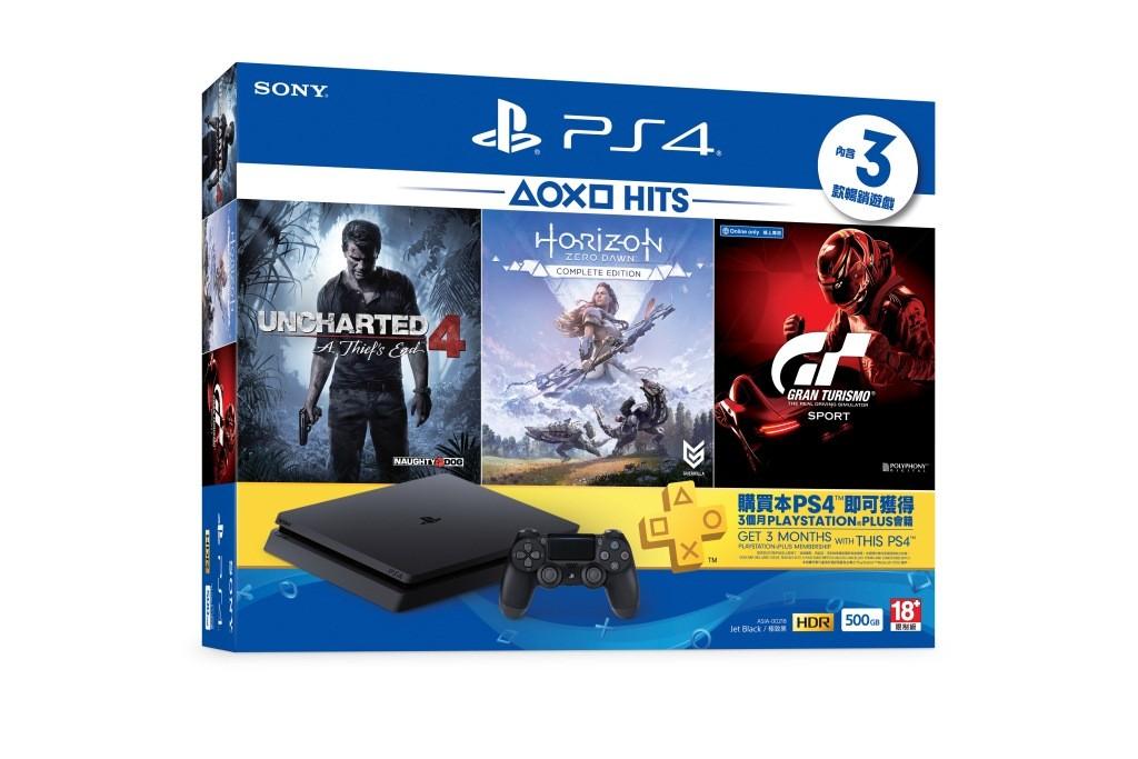 PS4 HITS同捆組含三強作不到萬元  廉版HITS遊戲月底登