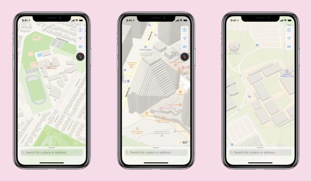 Apple Maps將重新改版!預計於下個iOS 12試版出