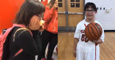 唐氏症女高中生 上場30秒驚呆隊員