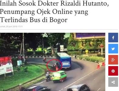公車貼機車左轉 醫生遭5秒輾殺