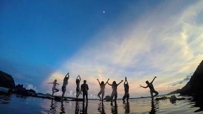 7個大女孩愛上大自然 北台灣海陸黑辣 美白不是漂亮唯一定義