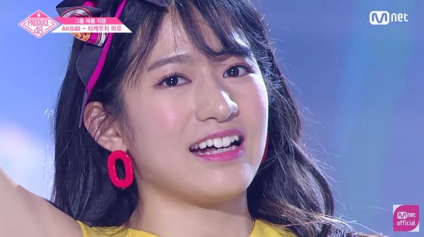 ▲《Produce 48》竹內美宥。(圖/翻攝自YouTube Mnet Official)