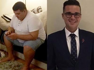 胖到「夢遊打老婆」!肥男為愛妻減肥,瘦到塞進單邊褲管