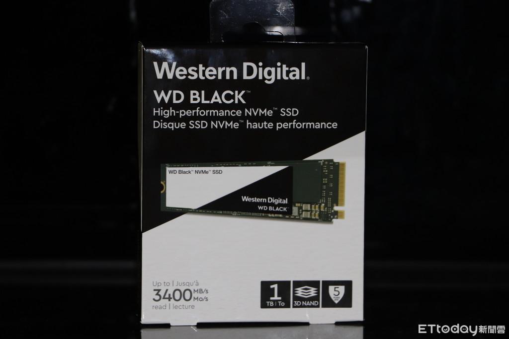 地表最速!WD全新標SSD開箱再顛覆你對硬碟速度的像