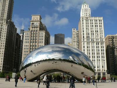 迷炫的公共藝術 芝加哥「雲門」