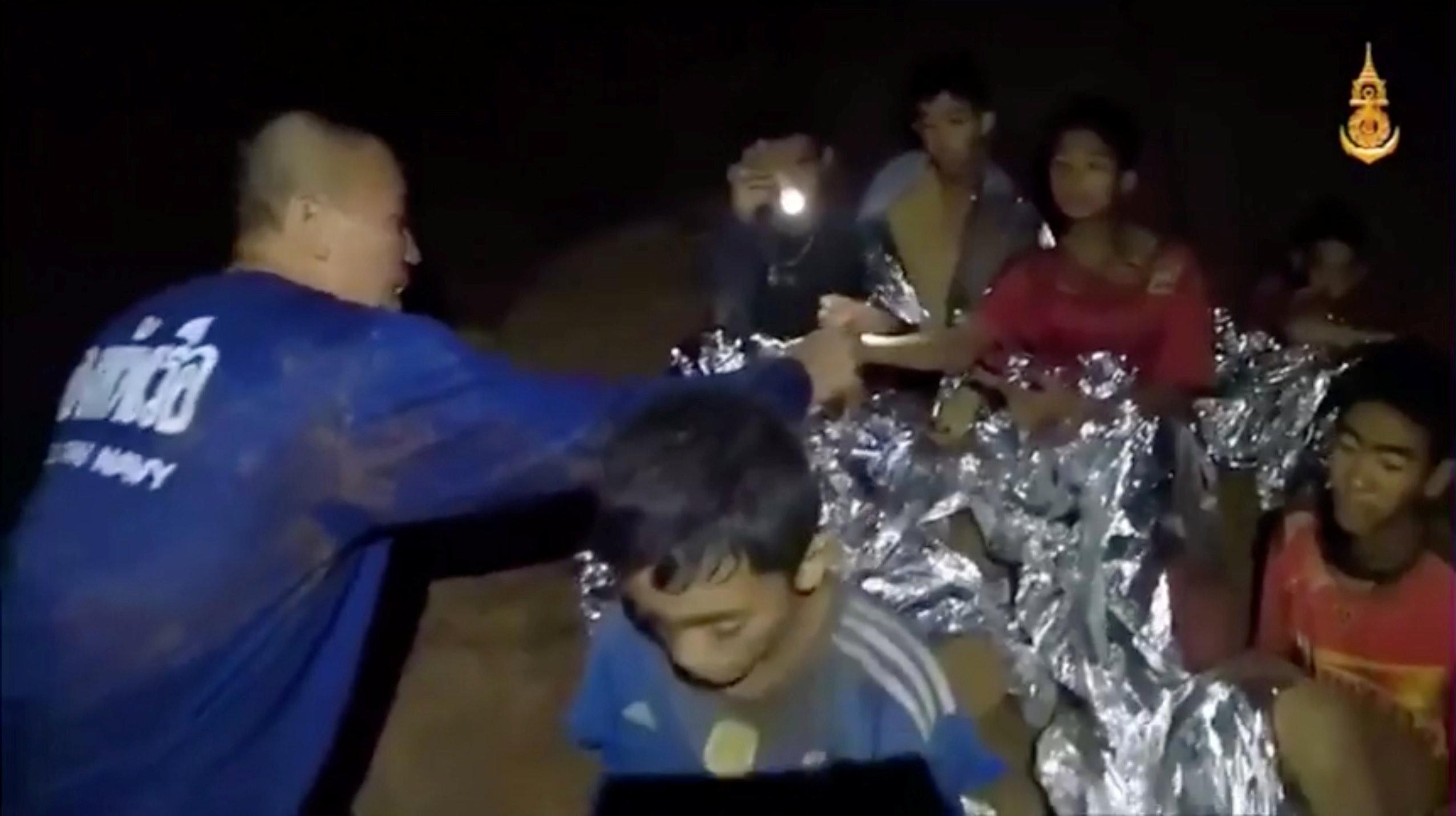 ▲泰國13名少年足球隊師生成員受困於「睡美人山洞」(Tham Luang)。(圖/路透社)