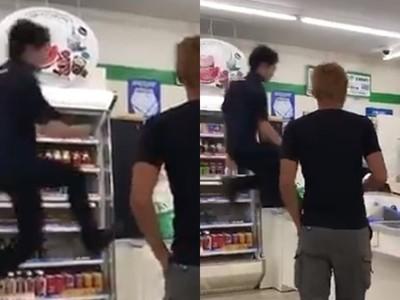 騰空飛起跳進櫃台!日超商店員「接客神技」 不讓顧客久候