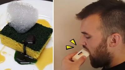 盆栽蛋糕太弱!「怪異寫實系甜點」這肥皂有點檸檬味