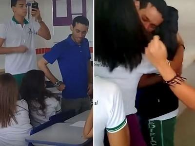 老師被欠薪每晚睡教室 全校「最壞的一班」幫了他